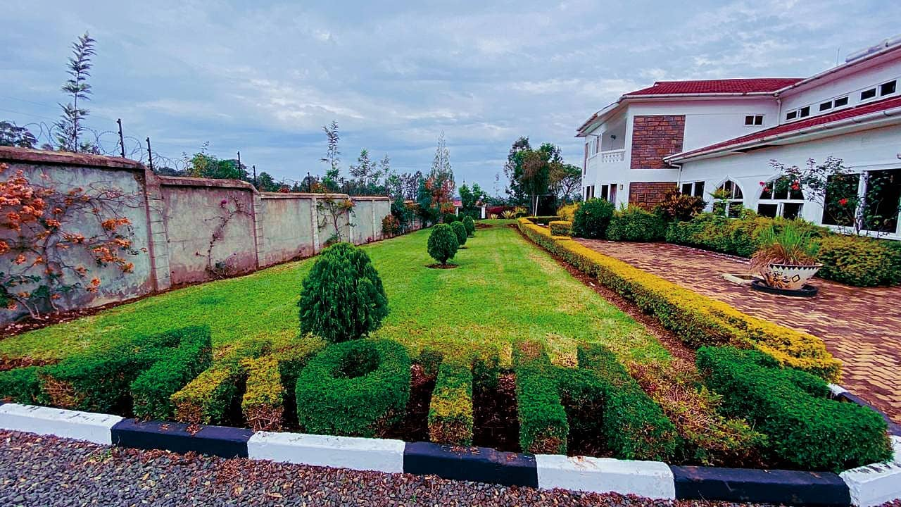 Akothee's Rongo home
