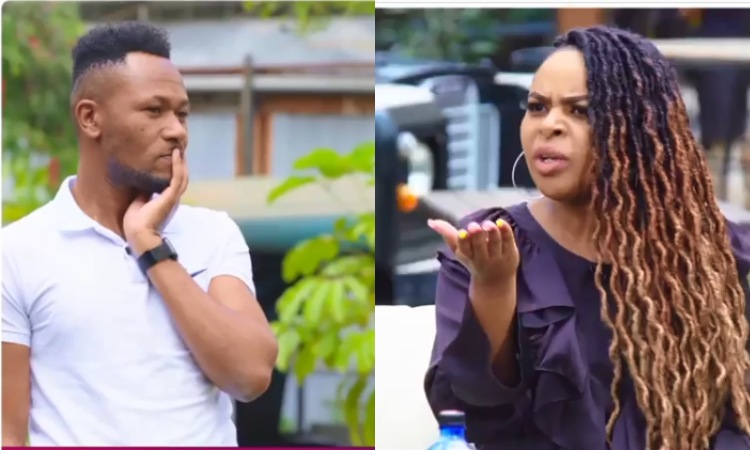 DJ Mo and Size 8 fight