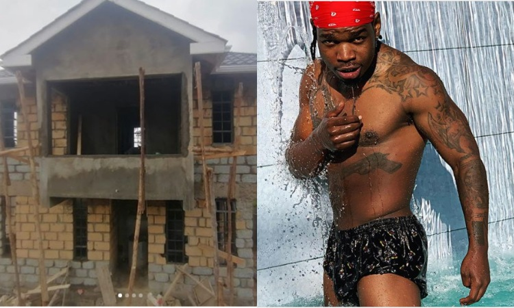 Forget his ratchet side! Check out the mansion Dus Nyau singer Timmy Tdat is building