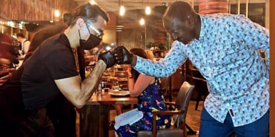 DP Ruto and Salt Bae